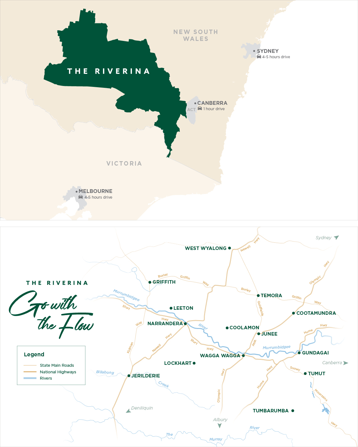 Riverina Map
