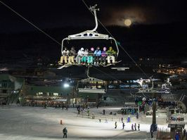 Night skiing, Perisher