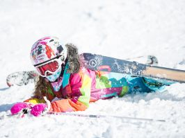 Young skier in Perisher