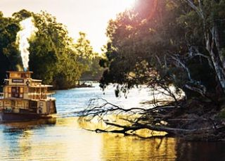 Riverboat on The Murray