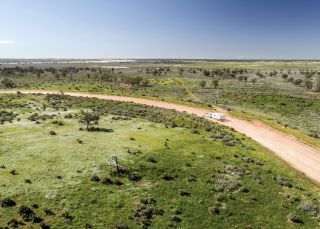 Mungo National Park, The Outback