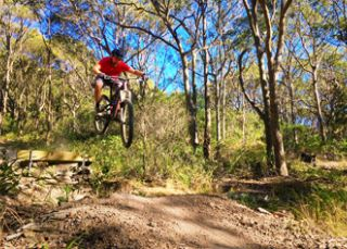 Mountain biking in Lake Macquarie - Neil Keene