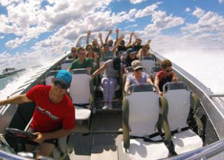 Jet boat thrill ride with Jetbuzz Watersports, Lake Macquarie
