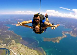 Skydive over the best views - Skydive Newcastle