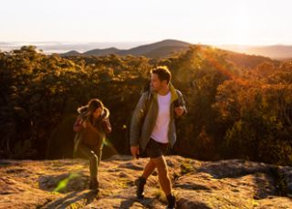 Watch a spectacular sunrise at Norths Lookout