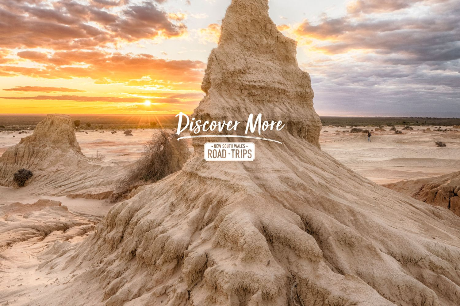 Walls of China in the World Heritage Mungo National Park