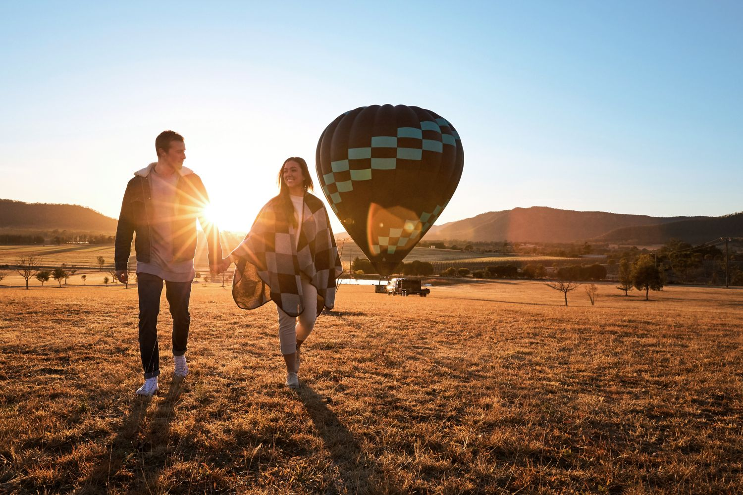 Hot air ballooning - Hunter Valley