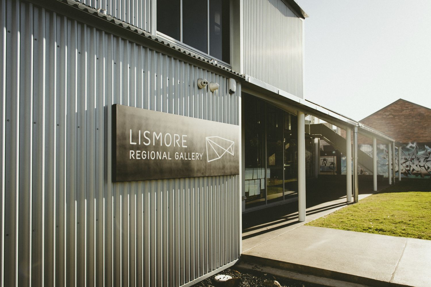 Entrance to Lismore Regional Gallery, Lismore