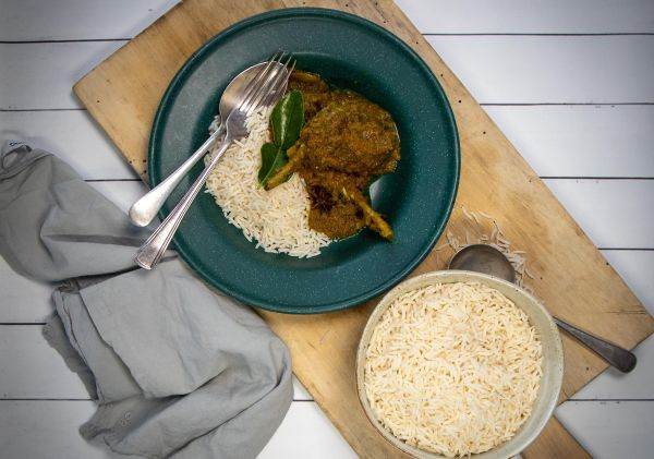 Rich Malaysian flavours come together with local lamb for this warming lamb rendang.