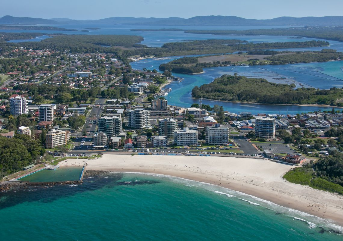 Forster Nsw Map Forster NSW   Plan a Holiday   Things to Do, Hotels, Beach  Forster Nsw Map