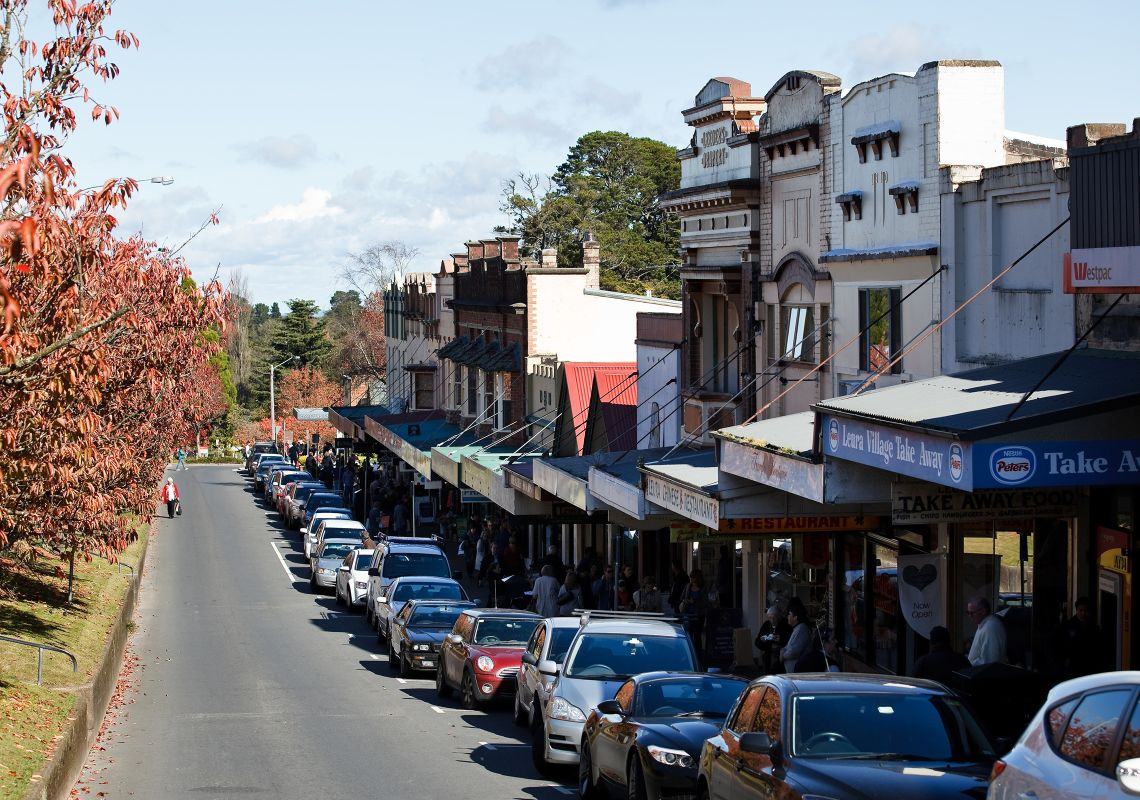 Leura Nsw Plan A Blue Mountains Holiday Hotels Maps