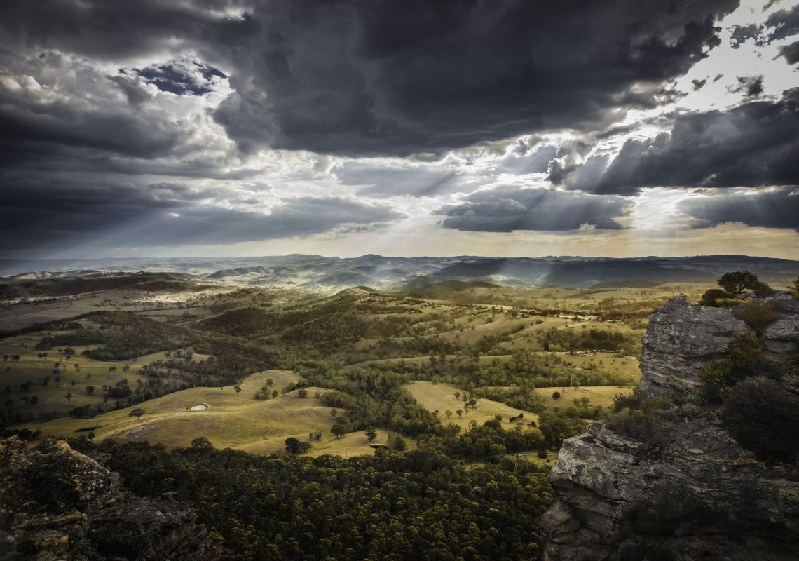 Hassans Walls Lookout - Lithgow Area - Blue Mountains