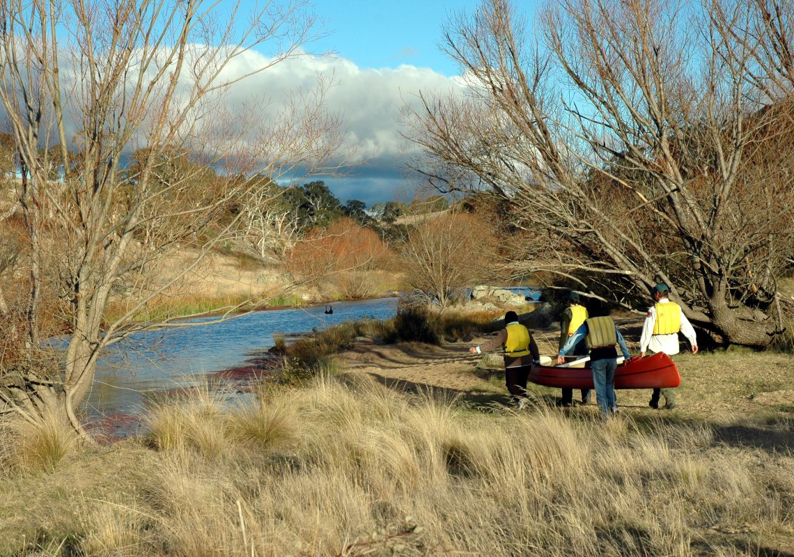 River activities in the Snowy Mountains area - Bombala
