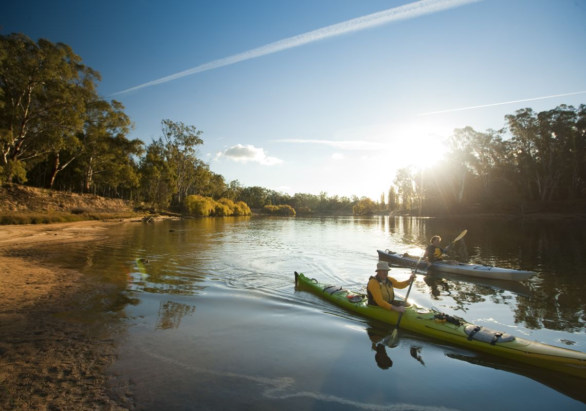 Kayaking - Mulwala - The Murray