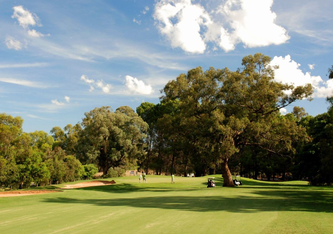 Corowa Golf Club, The Murray