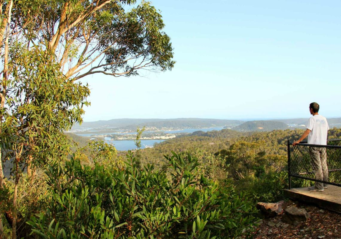 Staples Lookout - Brisbane Waters National Park