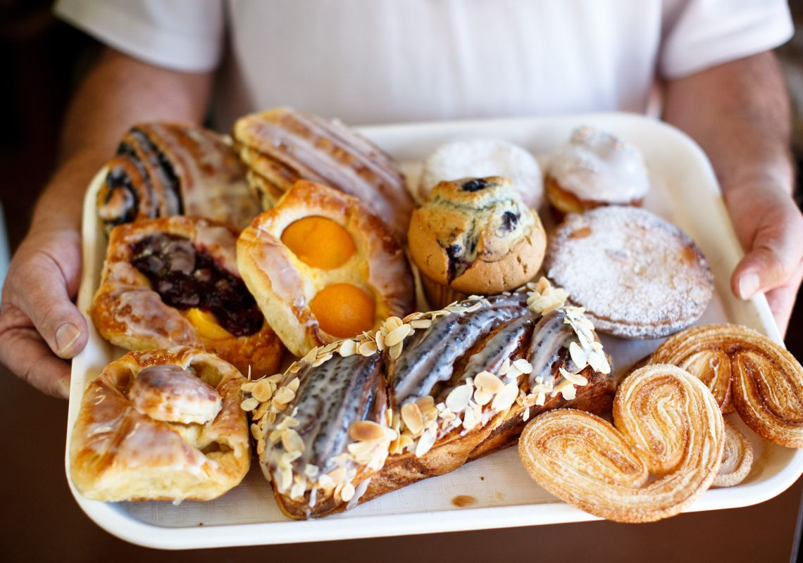 Baked goods at Bakery Patisserie Schwarz - Wentworth Falls