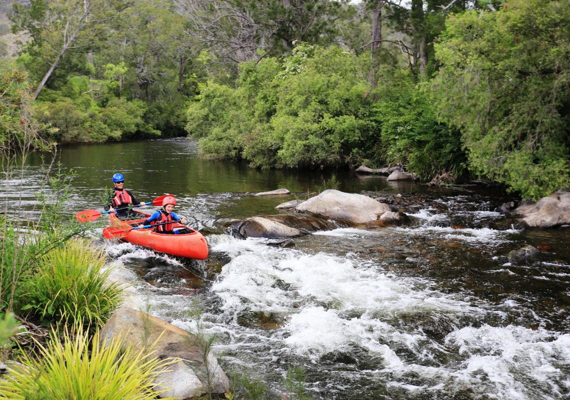 Canoeing the Barrington River with Barrington Outdoor Adventures, Barrington Tops National Park