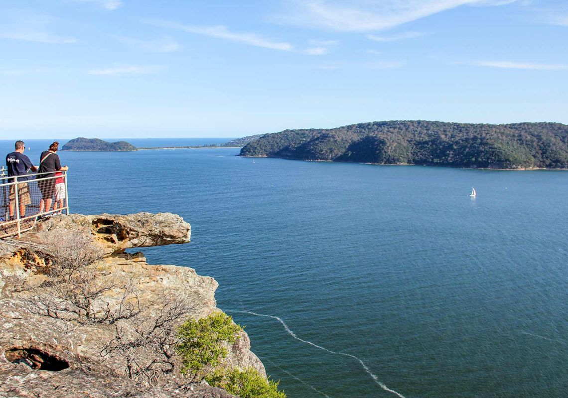 Warrah lookout - Brisbane Water National Park