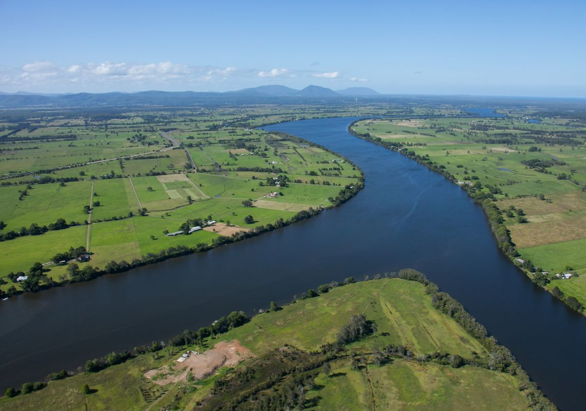 Manning River - Cundletown - Near Taree - Forster and Taree