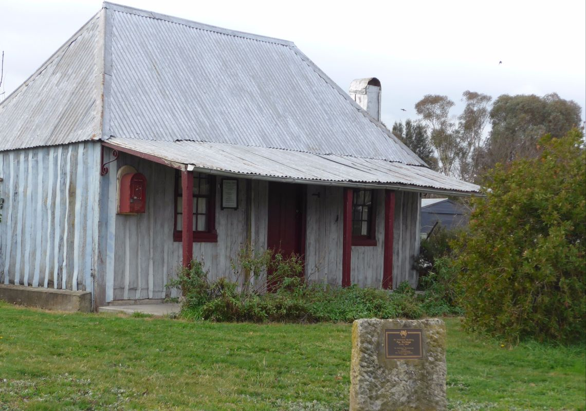 The 1860s-built Pye Cottage Museum in Gunning, near Goulburn NSW