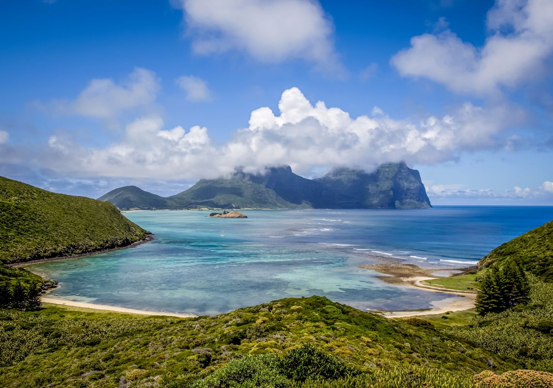 Lord Howe Island from North Bay Walk