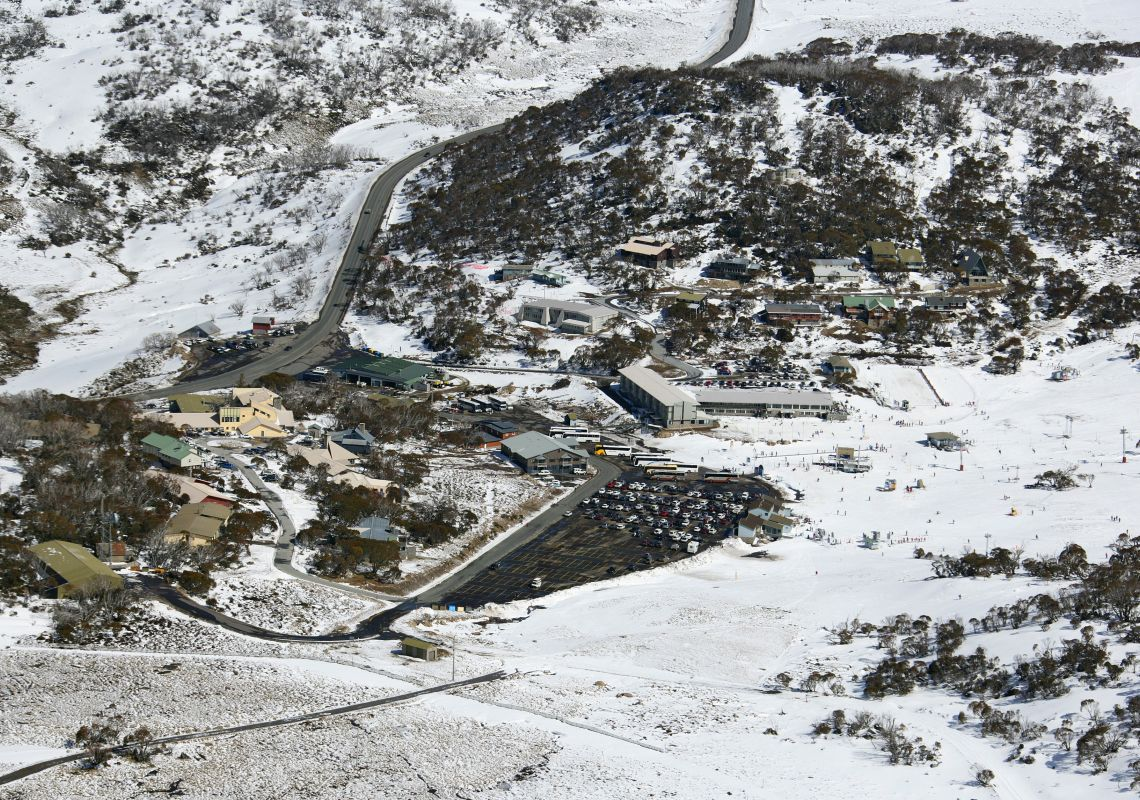 Smiggin Holes Ski Resort - Perisher - Snowy Mountains