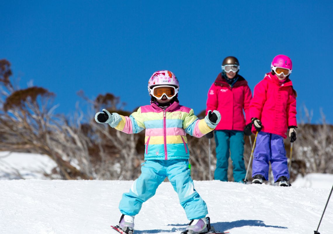 Family time in Perisher - Snowy Mountains