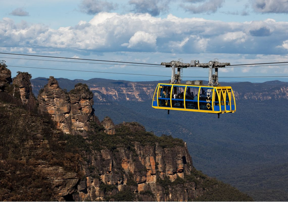 Scenic skyway, part of Scenic World in Katoomba, Blue Mountains
