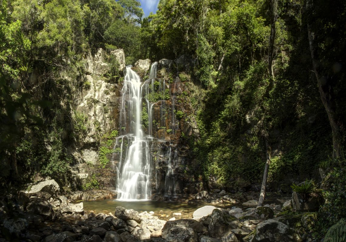 Minnamurra Falls in Kiama, on the NSW South Coast