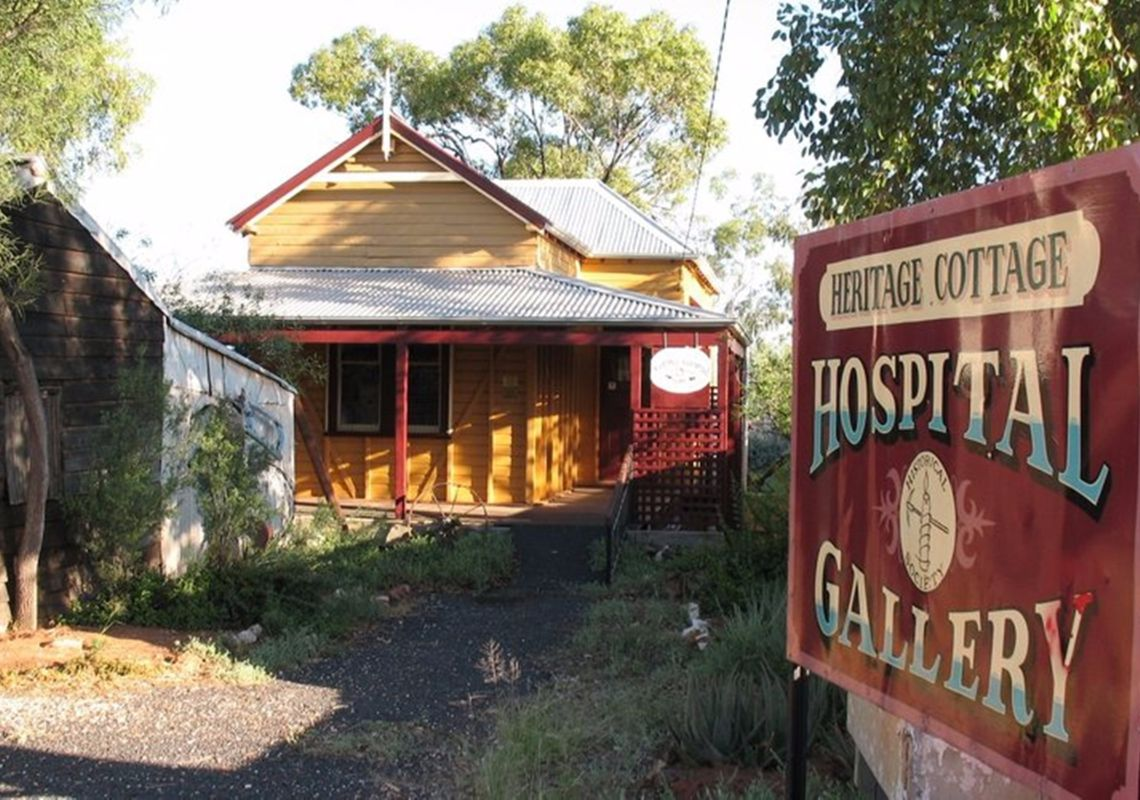 Lightning Ridge Heritage Cottage - Outback NSW