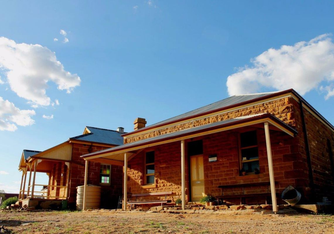 Historic buildings in the Milparinka Heritage Precinct