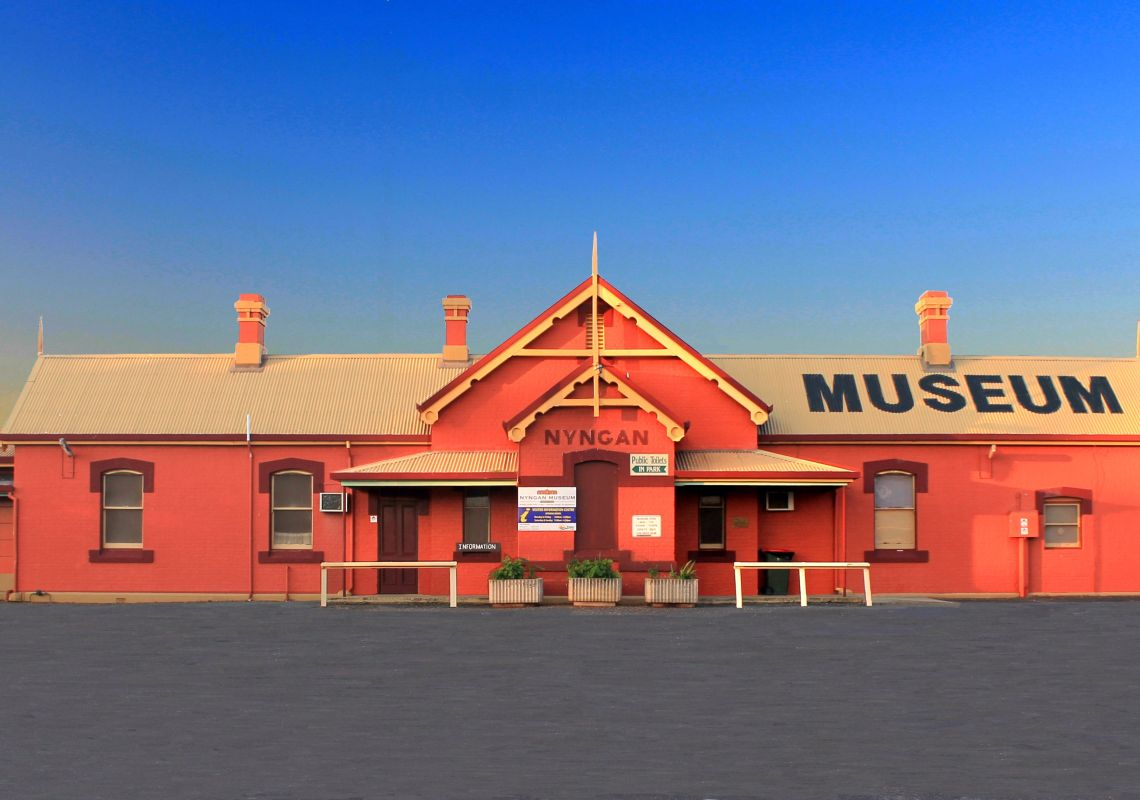 The Nyngan Visitor Information Centre - Cobar Area