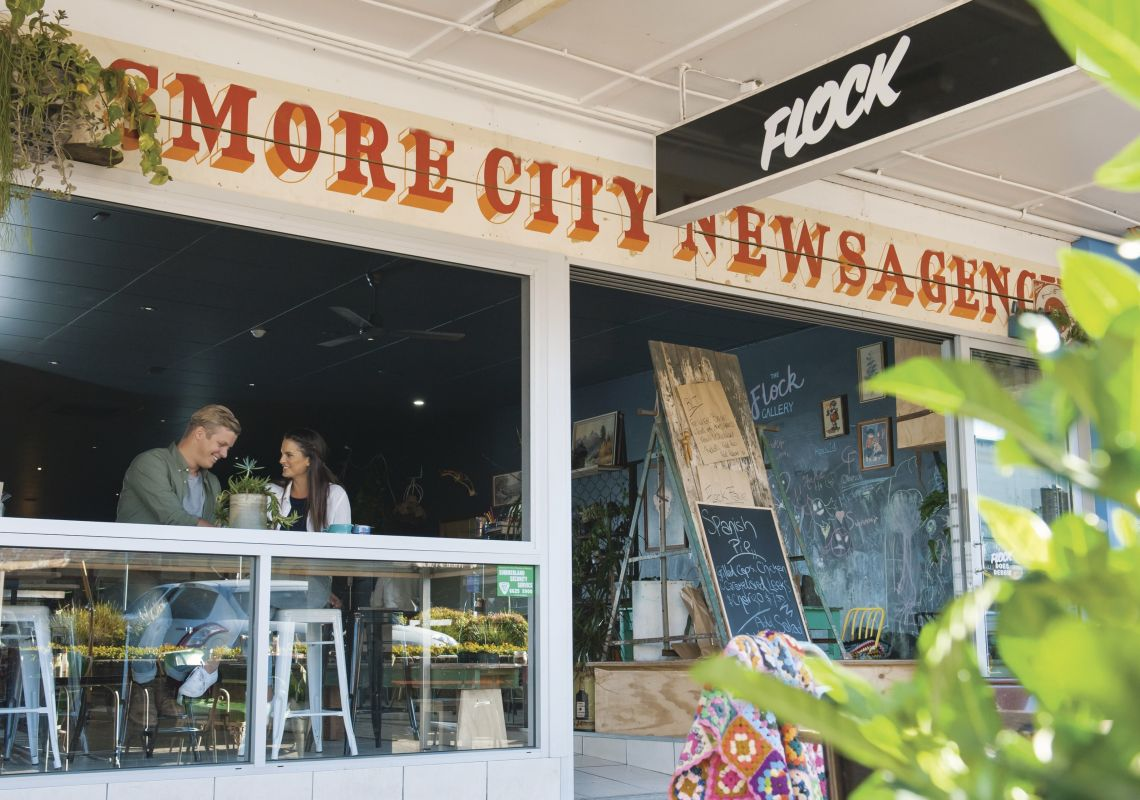 Flock Cafe, Lismore