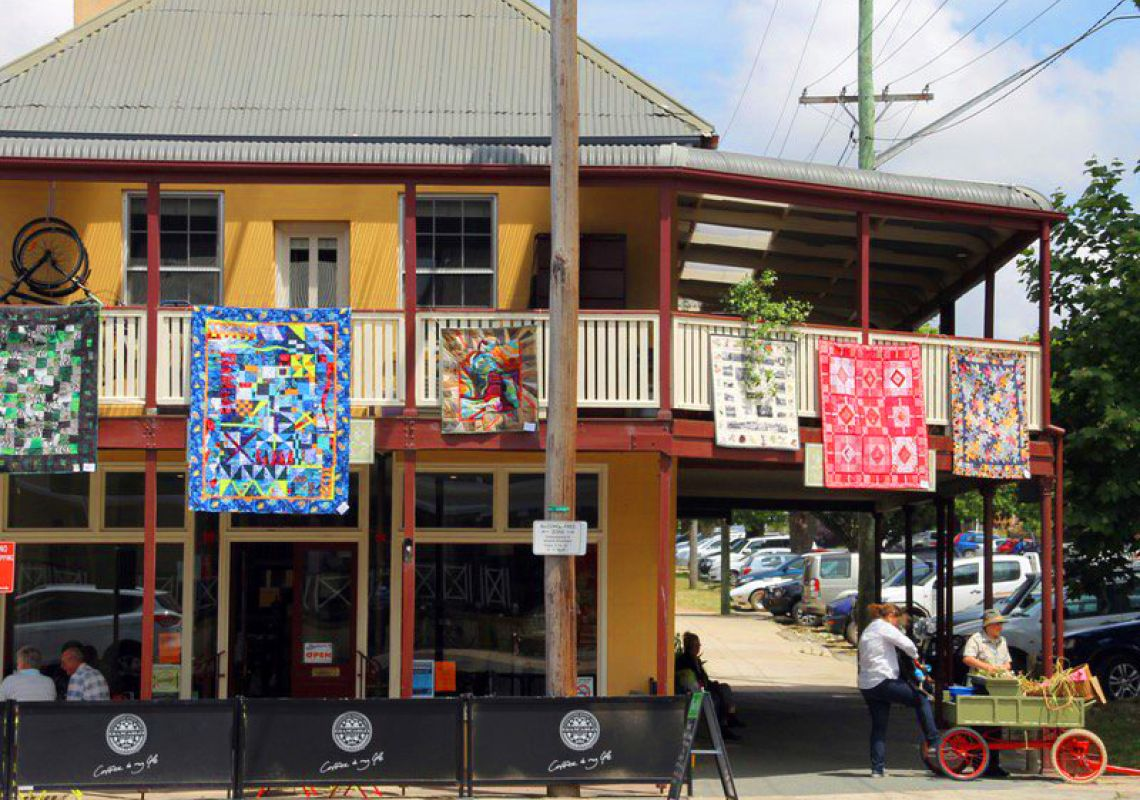 Festival and Airing of the Quilt, Braidwood