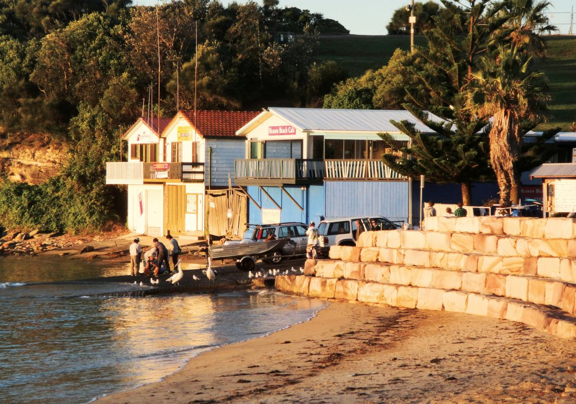 Boat ramp at The Haven, Terrigal, Central Coast