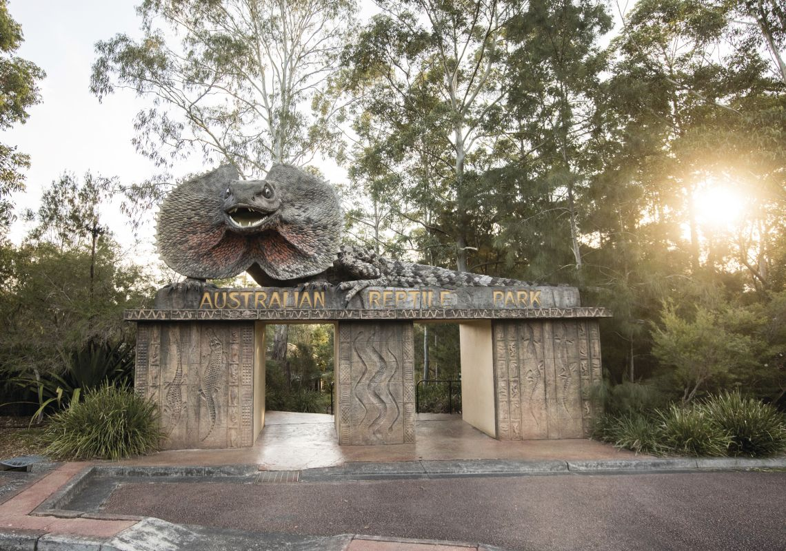 Australian Reptile Park on the NSW Central Coast