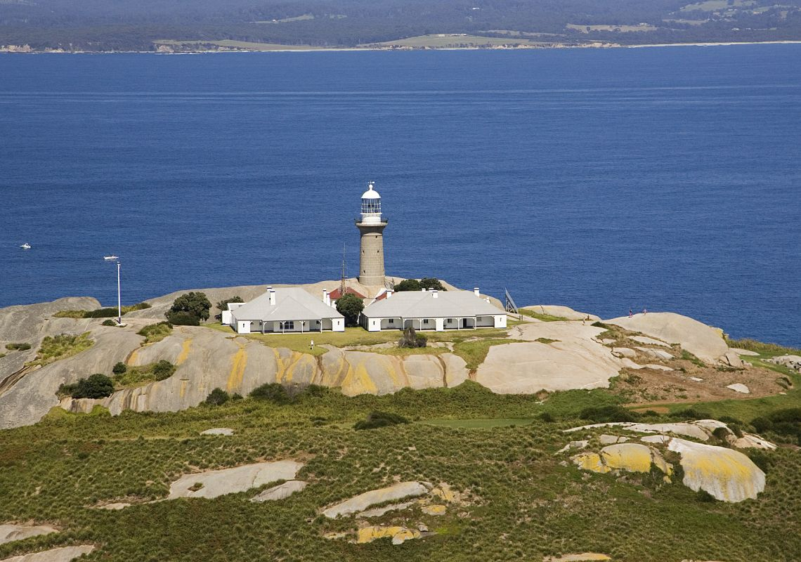 Montague Island Lighthouse and Cottage, near Narooma