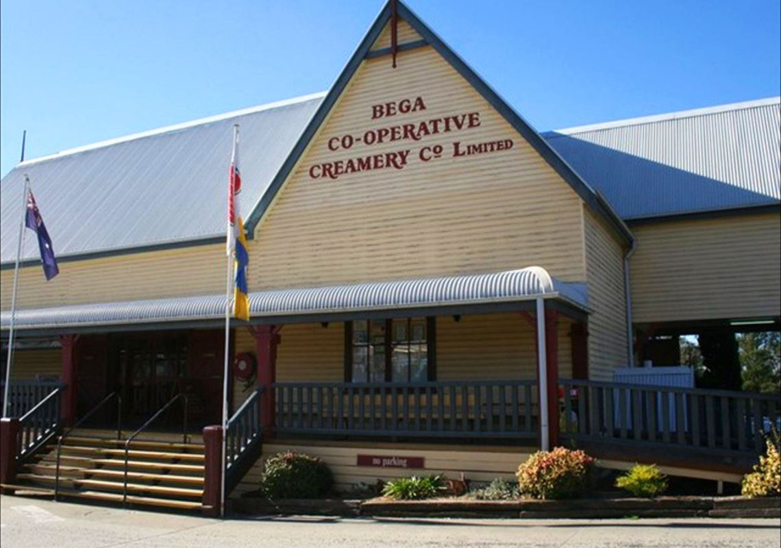 Bega Cheese Heritage Centre at Bega, Sapphire Coast