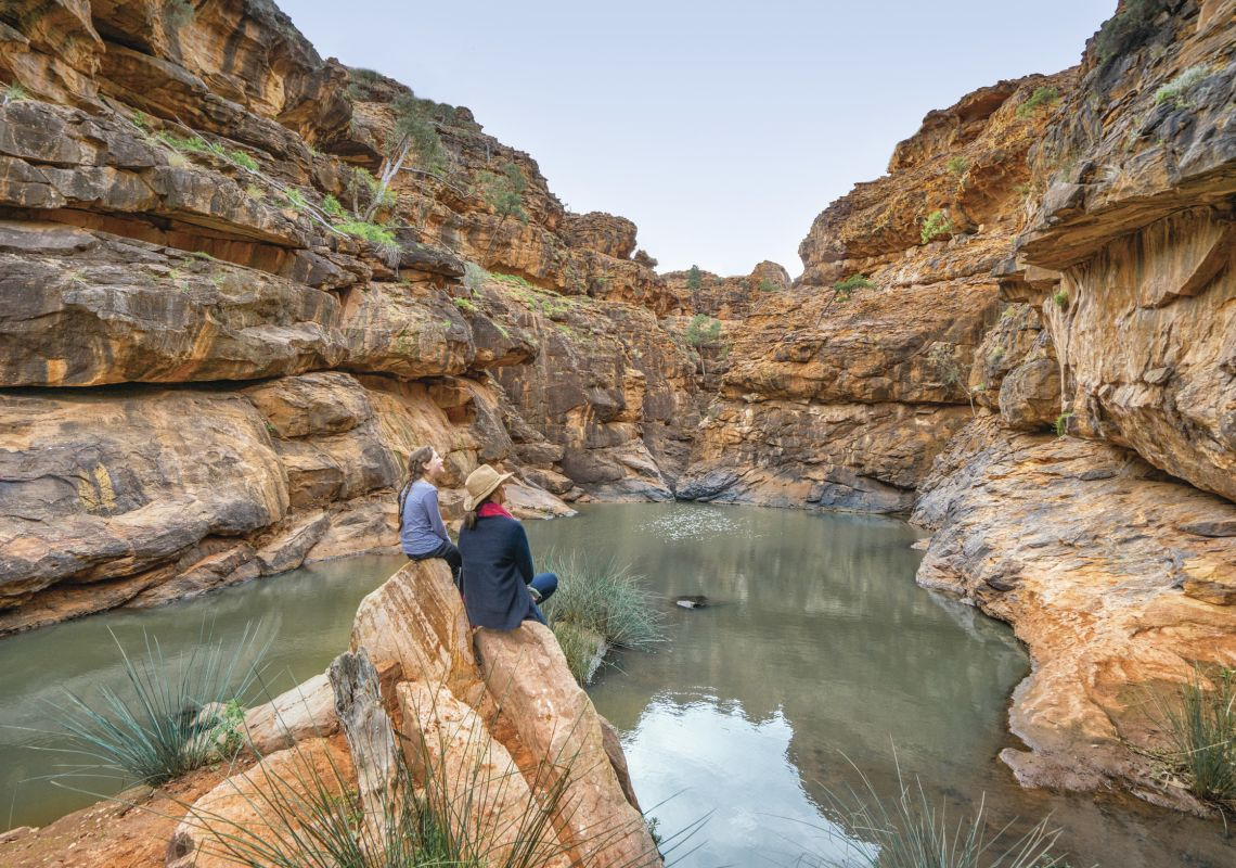 Mutawintji Gorge Walk - Mutawintji National Park - Outback NSW