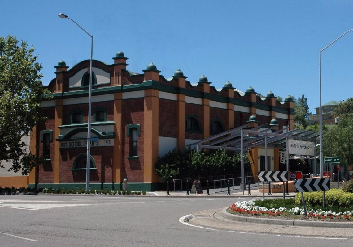 Street view of the Muswellbrook Regional Arts Centre