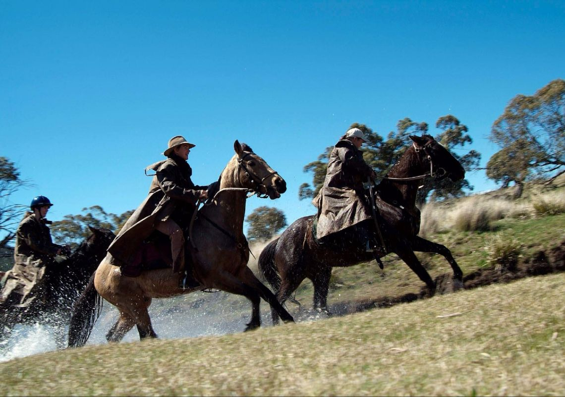 Horseriding with Snowy River Horseback Adventures