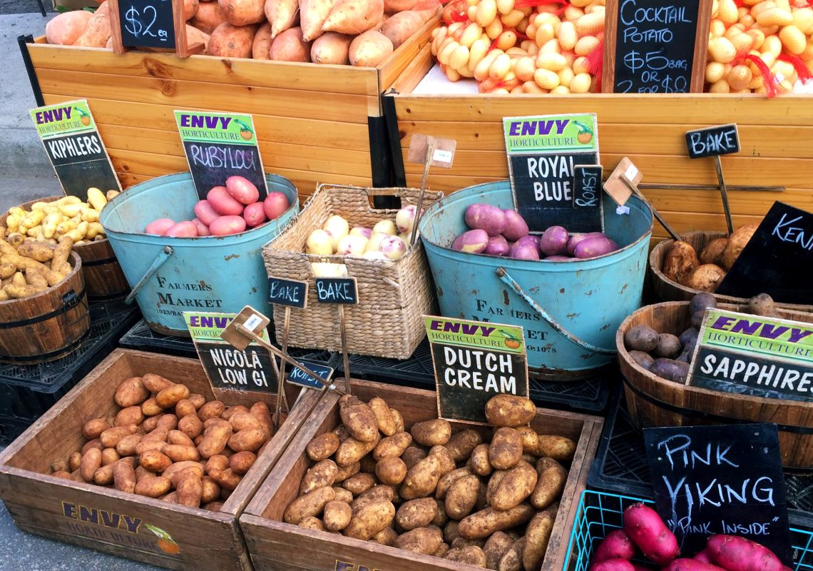 Farmers Market Produce in Lake Macquarie