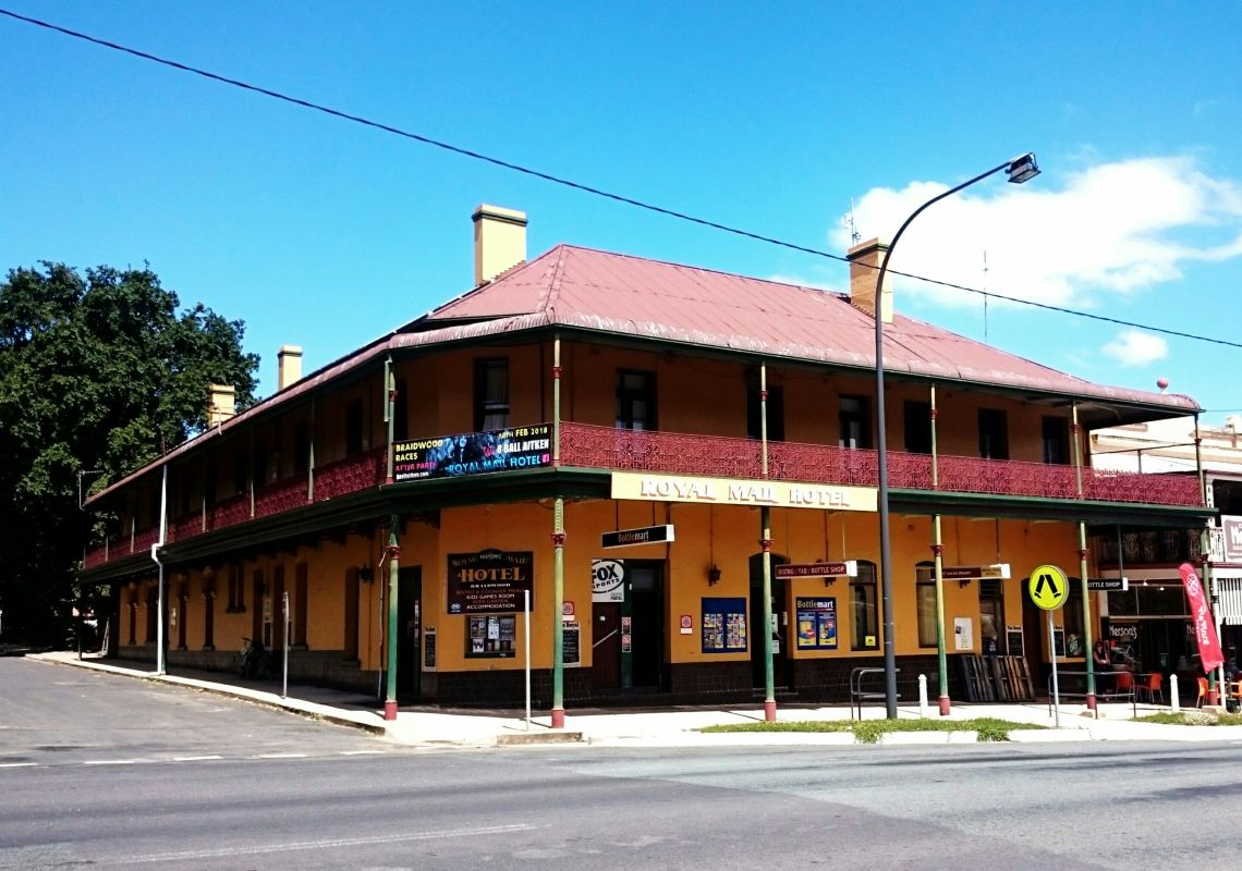 Royal Mail Hotel Braidwood in Braidwood, Country