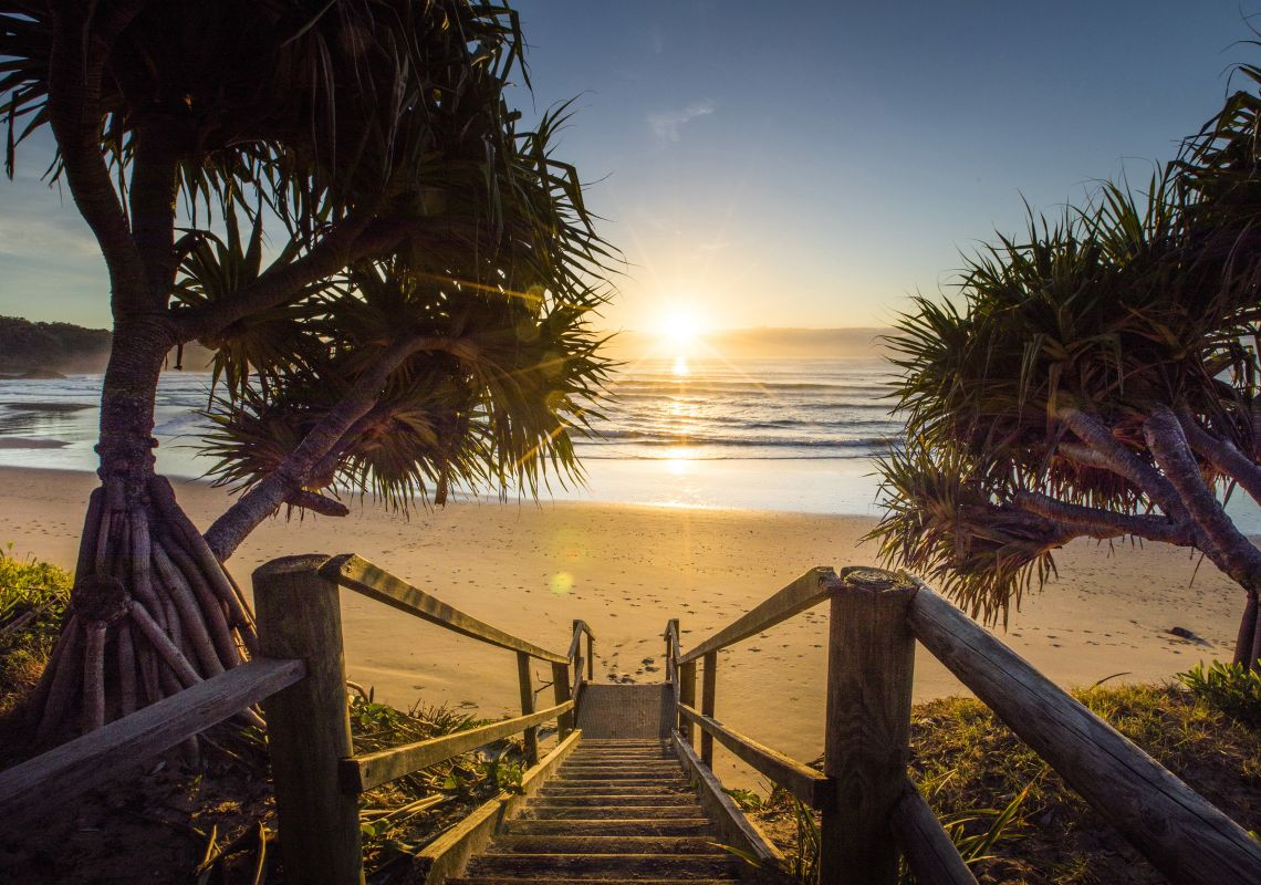 Jetty Beach sunrise - Coffs Harbour - NSW North Coast