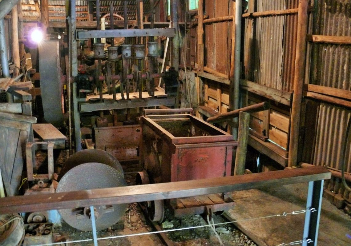 Copeland Historic Gold Mine Tour in Copeland, Barrington Tops