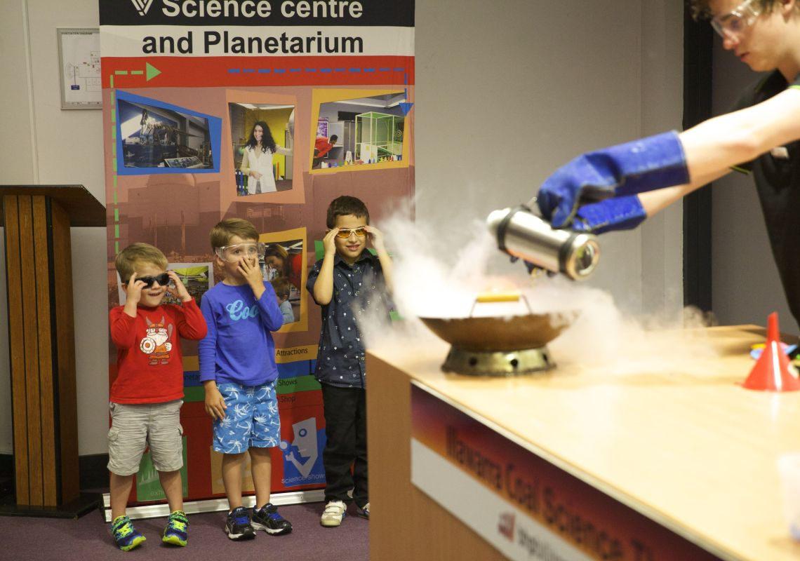 Science Shows at Science Space in Wollongong, South Coast