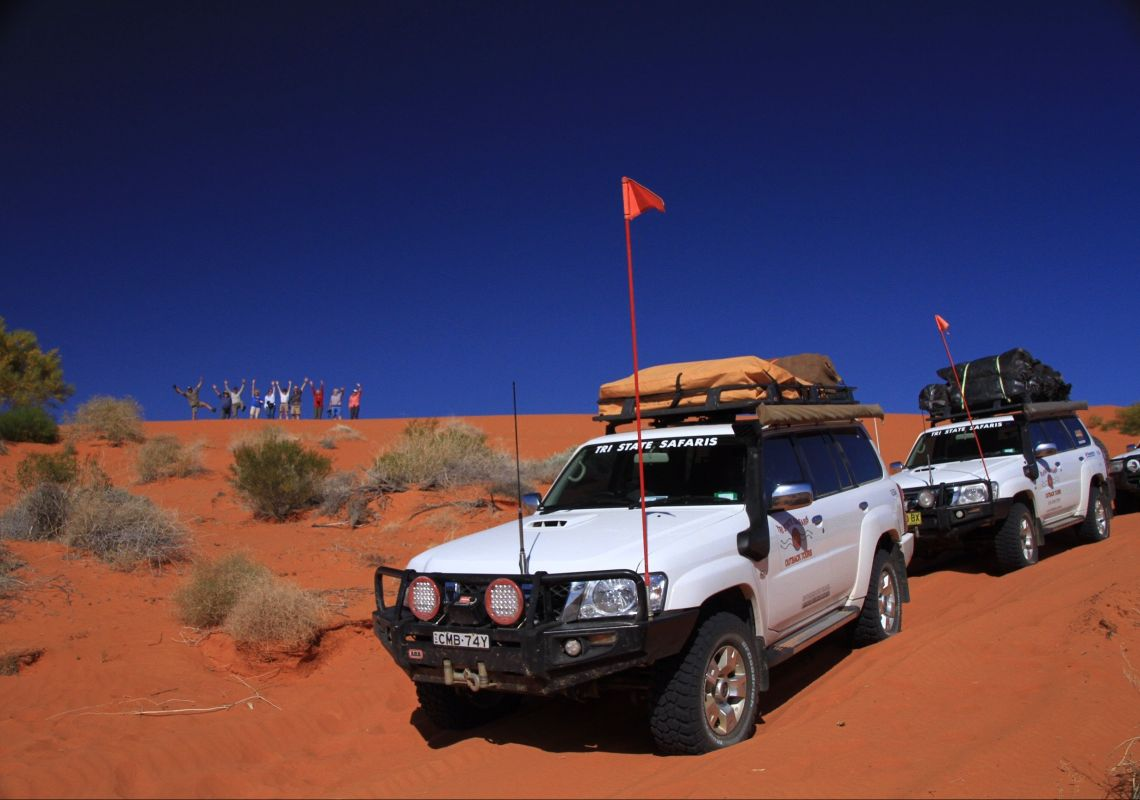 Outback simpson desert with Tri State Safaris in Broken Hill, Outback NSW