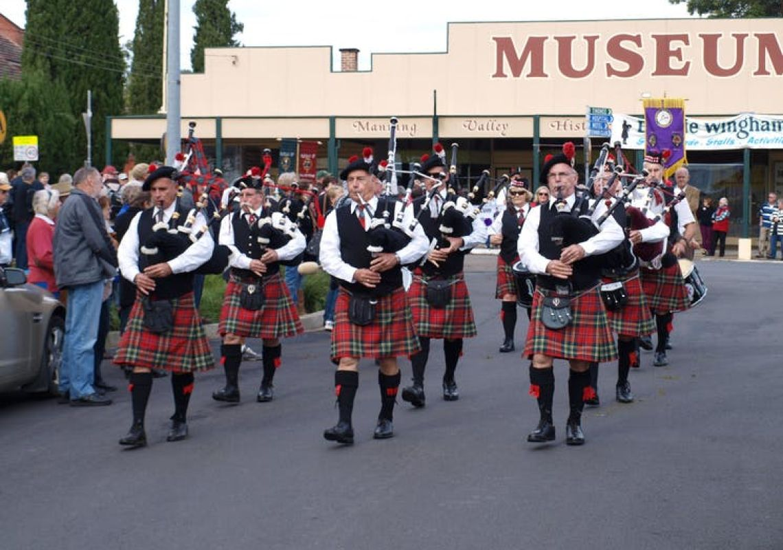 Bands on Parade Bonnie Wingham in Wingham, Forster & Taree