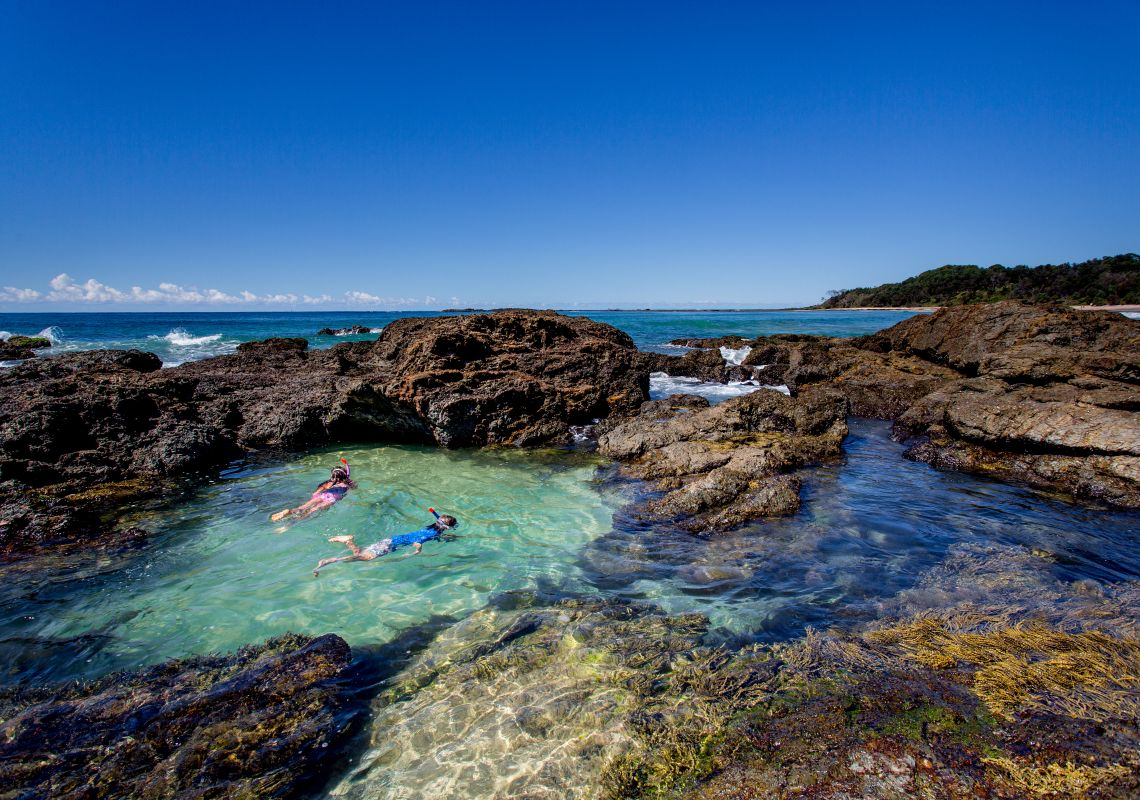 Snorkelling Near Wooli in Clarence Valley, North Coast